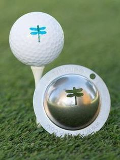 Mrs Golf - Ladies Golf Apparel, Shoes, Accessories - Tin Cup Dragonfly Golf Ball Stencil