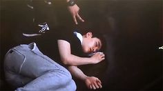 kyungsoo sleeping during rehearsal practice. he must be so tired. The poor baby squishy I hope he and the rest of the members get more sleep and eat better. WE NEED THEM HEALTHY!!!