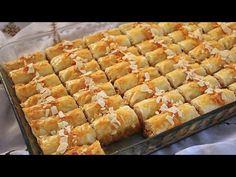 لعشاق البقلاوة التركية في رمضان هاذ المرة بحشوة مخلطة اقتصادية كتحضر في دقائق وكتجي رائعة جدا جدا😋 - YouTube Biscuits, Spanakopita, Ramadan, Apple Pie, Cooking, Ethnic Recipes, Food, Art, Drawings Of Hearts