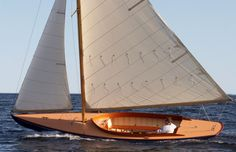 I just love wooden boats... made by artisan boatworks