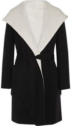 Max Mara Reversible Hooded Wool Coat
