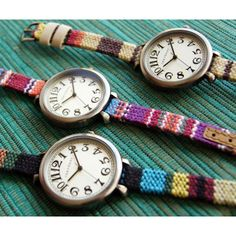 Colorful and fun watches with a #southwestern flair  fashion time gift style. #tokyobay
