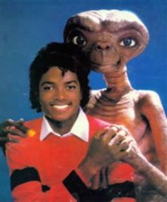 michael was black and loved aliens and not little boys