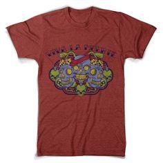 "T-Shirt men ""Santa Trinidad"" - FREIE FARBAUSWAHL von MAD IN BERLIN auf DaWanda.com"