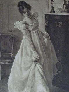 Large antique steel engraving of dancing lady a by PrimrosePrints, £50.00  Large antique steel engraving of dancing lady, a rare Victorian art print of lady in Victorian era dress, The Dance by Ralph Peacock