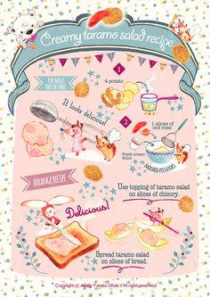 Creamy taramo salad recipe