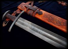 Hrafn - Ulfberht Sword Replica by Brendan Olszowy Fable Blades Viking Sword… Viking Men, Viking Warrior, Swords And Daggers, Knives And Swords, Tactical Swords, Heroic Age, Viking Sword, Central And Eastern Europe, Norse Vikings