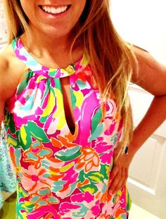 Lilly Top ;-) what would a preppy girl do without Lilly Pulitzer