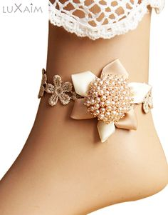 #Pearl #Anklet By @ReturnFavors.