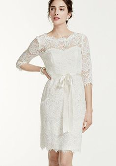 In love with this very simple yet elegant wedding dress for a barn wedding. <3