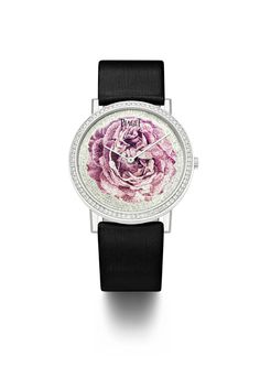 Piaget #Altiplano with a hand-made micro-mosaic representing an aesthetical interpretation of the #Rose Yves Piaget. #PiagetRose Oh my god I love this one! This is a must!!!!
