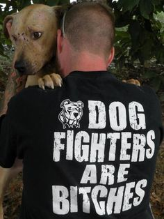 NO TO DOG FIGHTING!  Not strong enough a word to describe what the losers really are in my opinion!