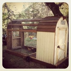 Chicken Coop! Ok, it's awesome!