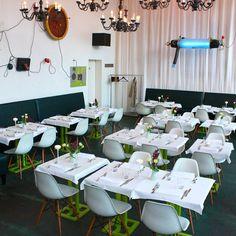 Außergwöhnliches Interieur im Pane e Tulipani, wo Kunst auf Gastronomie trifft | creme hamburg
