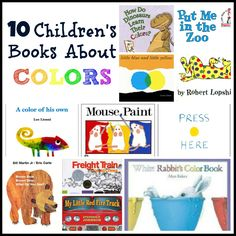 childrens books that teach colors - Preschool Books About Colors