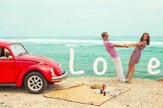 Интересные идеи для фотосессии влюбленной пары (35 фото)