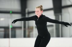 Erin Coyne, a 13-year-old from Westminster in Carroll County, has been figure skating for five years and hopes to compete one day at a high level, or even possibly the Winter Olympics.