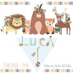1st Birthday Boy Themes, Birthday Diy, 1st Birthday Parties, Album Baby, Summer Bucket List For Teens, Fox Party, Baby Canvas, Tribal Animals, Ramadan Crafts
