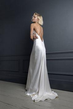 Slip Wedding Dress, Western Wedding Dresses, Bridal Dresses, Silk Wedding Dresses, Classic Wedding Gowns, Elegant Wedding, Bridal Separates, London Wedding, Dream Dress