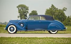 1938 Lincoln Model K Convertible