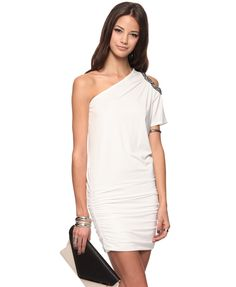 Beaded Cutout Dress