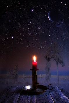 Explore amazing art and photography and share your own visual inspiration! Night Whispers, Candle In The Wind, Beautiful Moon, Jolie Photo, Candle Lanterns, Light Photography, Stars And Moon, Night Skies, Oeuvre D'art