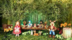Resultado de imagem para chapeuzinho vermelho festa infantil