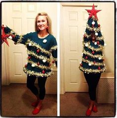 Ugly Christmas Sweater win!