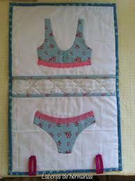 Resultado de imagem para bolsas de patchwork para ropa interior
