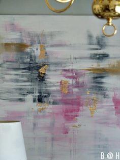 DIY Abstract Art || B @ H