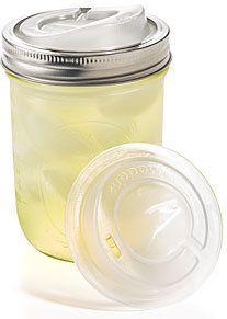 #ThinkGeek                #ThinkGeek                #Cuppow #Mason #Sippin�   Cuppow Mason Jar Sippin� Lid                                                  http://www.seapai.com/product.aspx?PID=1805085