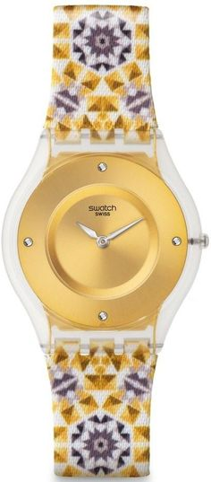 Swatch Seminato Ladies Watch SFW108