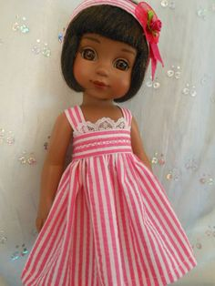 CANDY STRIPES made to fit 10 inch Tonner Patsy, Ann Estelle, Kish Bethany, BJD  On my ebay