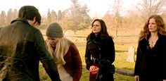 Colin O'Donoghue -Killian Jones - Captain Hook - Jennifer Morrison - Emma Swan on Once Upon A Time 5x20