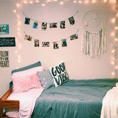35a1190197 good vibes // shop dormify.com and design your dream space Fairy Lights Room