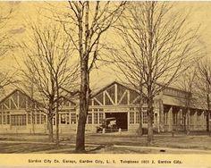 The old Garden City Garage - Garden City NY - Long Island