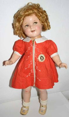 My Shirley Temple Composition Doll Collection