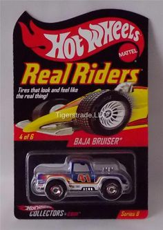 HOT WHEELS RLC - SERIES 8 - BAJA BRUISER - HW RACING DECO - REAL RIDERS #HotWheels