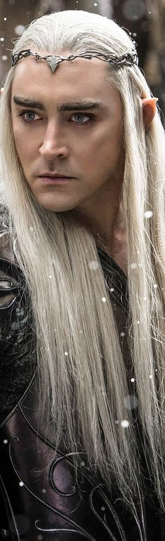Thranduil. Battle of the Five Armies - ok so he is not a typical destination but he is something beautiful to see!