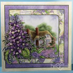Heartfelt Creations - Enchanted Lilac Cottage Project