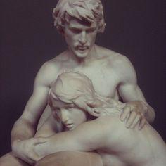 @Fifikoussout: Adam and Eve, Glyptoteket, Copenhagen