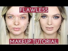 ACNE COVERAGE// Flawless Foundation Makeup Tutorial // MyPaleSkin - YouTube