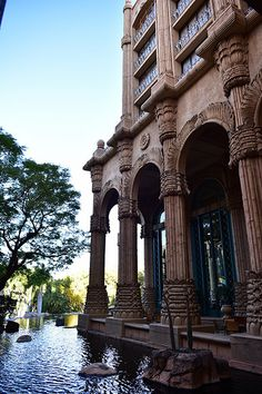 The Palace, Sun City, North West, South Africa by South African Tourism North West Province, Building Aesthetic, All About Africa, Hiking Places, Africa Art, Sun City, Castle House, Lost City, North Africa