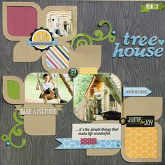 Tree House - Scrapbook.com