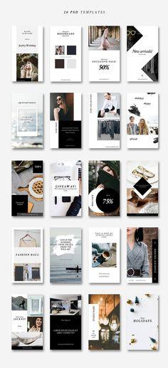 Instagram Stories-Lifestyle&Fashion by CreativeFolks on @creativemarket