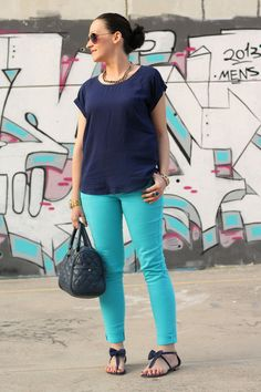 Looks con collares azules - Trendtation