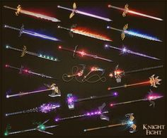 Knightfight weapons 2 by sash4all on DeviantArt