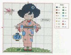 ponto cruz japonesa grafico - Pesquisa Google