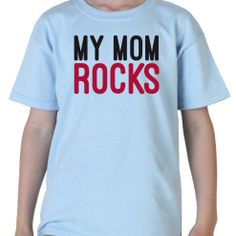 Mom rocks  bambino di particella18 su Etsy, €13.00