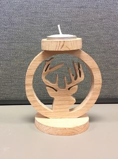 A personal favorite from my Etsy shop https://www.etsy.com/listing/247458573/handcrafted-wooden-big-buck-deer-tea